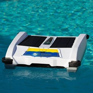 best robotic pool cleaner - Solar Breeze NX Automatic Pool Skimmer- Smart Robotic pool cleaner reviews