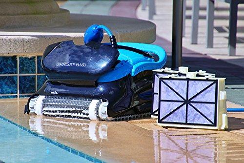 10 Best Pool Vacuum Cleaners - Dolphin Nautilus CC Plus Pool Vacuum Cleaner