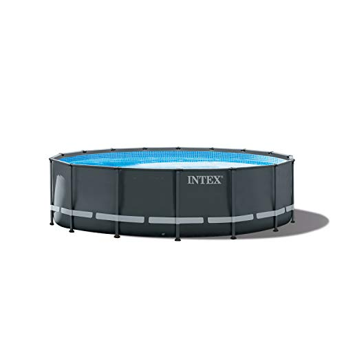 Compare Intex Ultra Frame Above Ground Pool Vs Meadows Round Above-Ground Pool
