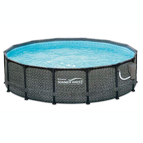 "Best Summer Wave Pool Reviews - Summer Waves 14' x 48"" Above Ground Pool"