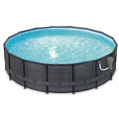 "Best Summer Wave Pool Reviews - Summer Waves Elite Wicker 16' x 48"" Above Ground Pool"