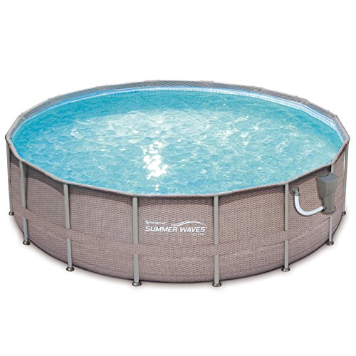 Best Summer Wave Pool Reviews - Summer Waves 18 Feet x 48 Inches Above Ground Frame Pool Set
