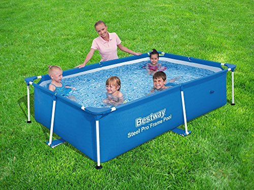 The 10 Bestway Pool Review of 2019 - Bestway 118 x 79 x 26 Inches Kids Swimming Pool
