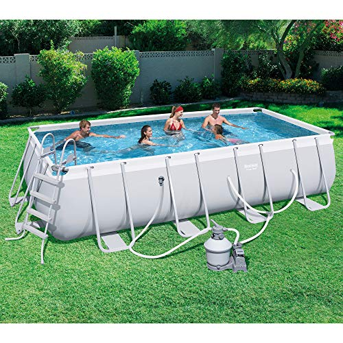 The 10 Bestway Pool Review of 2019 - Bestway 18 x 9x  48 Inches Rectangular Ground Pool