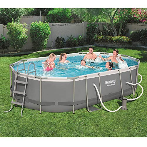 The 10 Bestway Pool Review of 2019 - Bestway Power Steel 16 x 10 Feet Above Ground Swimming Pool