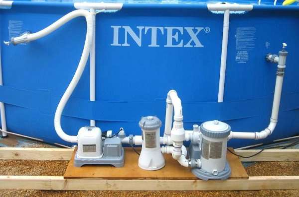 How to hook up Intex pool vacuum