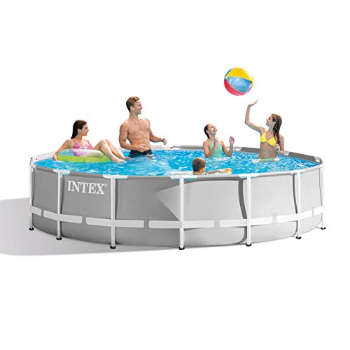 Best Intex Pool Reviews and Comparison - Intex 14ft x 42in Prism Frame Pool Set