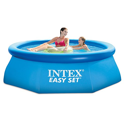 Best Intex Pool Reviews and Comparison - Intex 8ft x 30in Easy Pool Set with Filter Pump