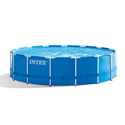 Best Intex Pool Reviews and Comparison - Intex 15ft x 48in Metal Frame Pool Set