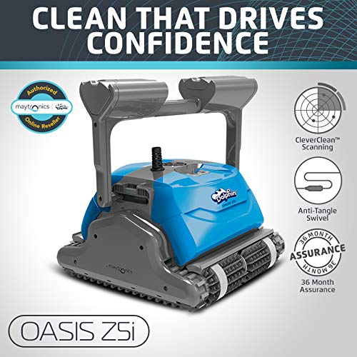 Key Features of Dolphin Oasis Z5i Robotic Pool Cleaner