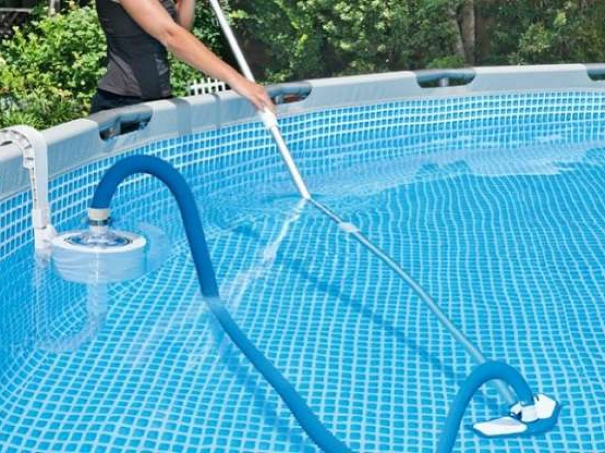 How To Vacuum Above Ground Pool Poolcleanerlab