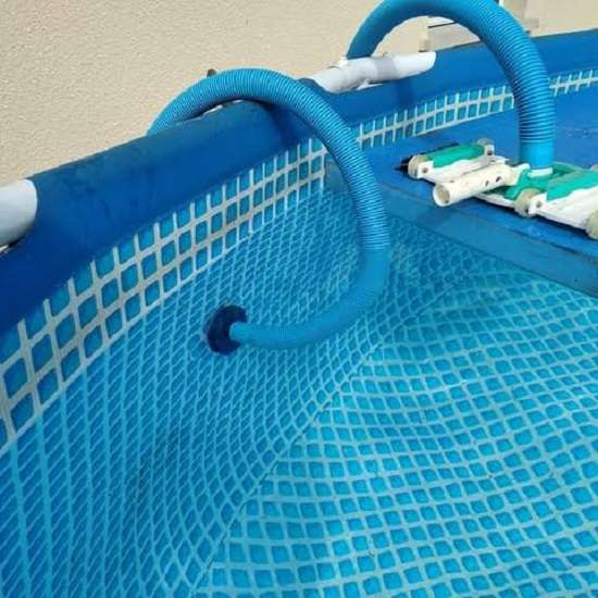 How to Vacuum an Above Ground Pool with the Help of a Garden Hose