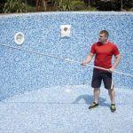 How to clean dirt from the bottom of a pool