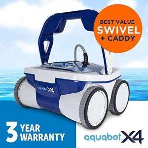 Aquabot X4 robotic pool vacuum review