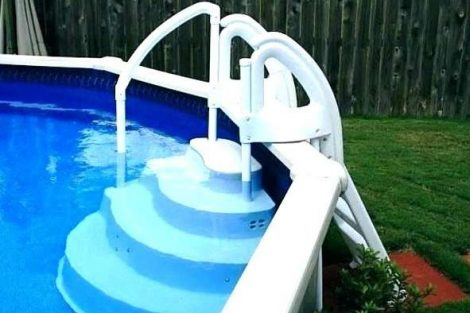 Above ground pool steps review
