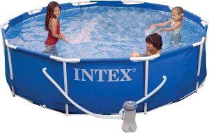 Intex 10x30 metal frame pool review