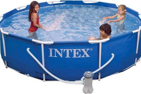Intex 10x30 metal frame pool review