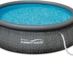 Summer Waves dark wicker pool Review