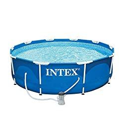 intex-10x30 metal frame pool