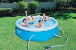 Bestway 8ft x 26in fast set pool Review