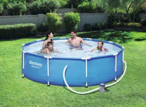 Bestway steel pro round frame pool