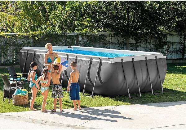 Intex 18ft Ultra Frame Pool Review-