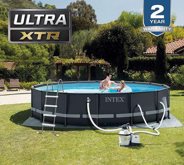 Intex 16ft ultra frame pool review
